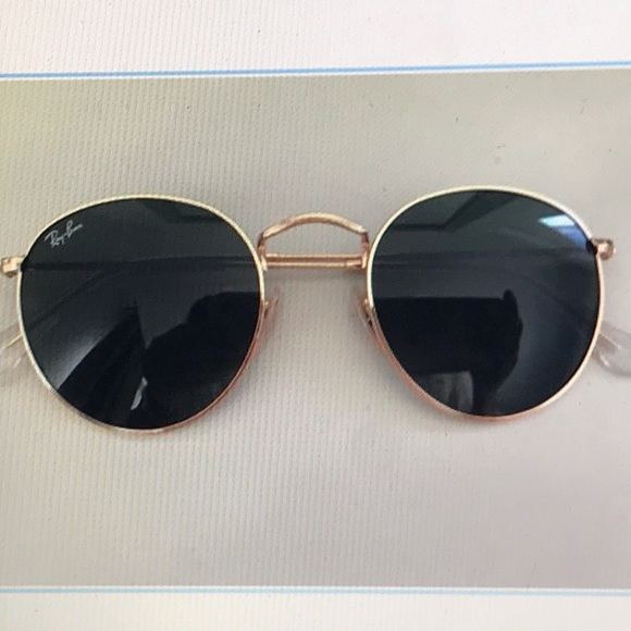 4087eeaf0a Ray Ban 3447 round gold metal sunglasses. M 5a8f37799a94553d5b421e71. Other  Accessories ...